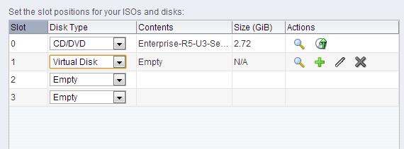 Oracle VM Create VM Virtual Disk