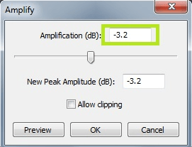 audacity-adjust-amplification
