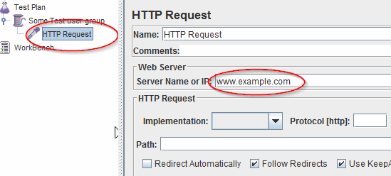 JMeter View HTTP Request