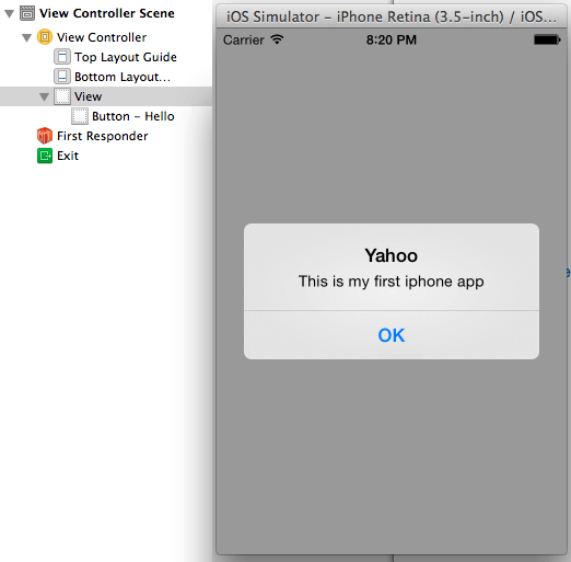 Xcode iOS Simulator