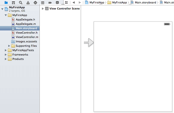 Xcode Main Storyboard
