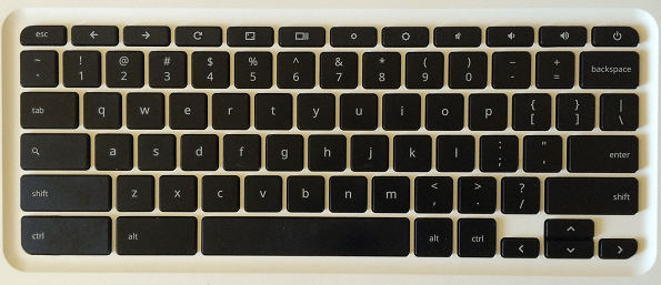 Chromebook Keyboard Layout