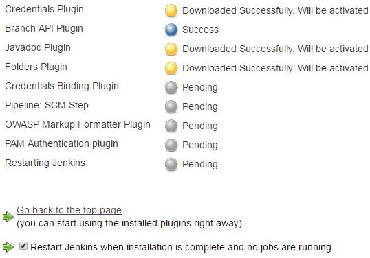 install jenkins plugin via command line