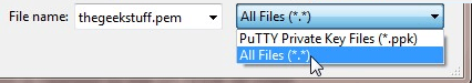 Puttykeygen Select All File