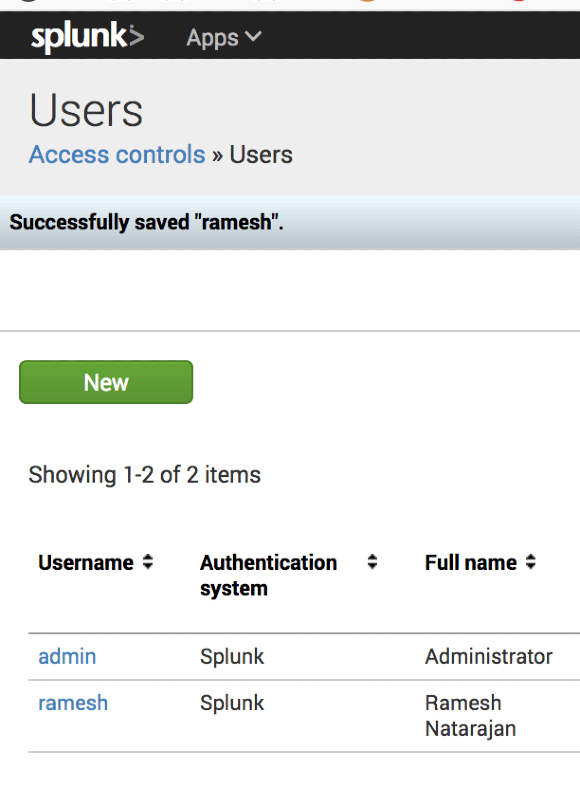 12 Splunk User and Role Administration Examples for both CLI
