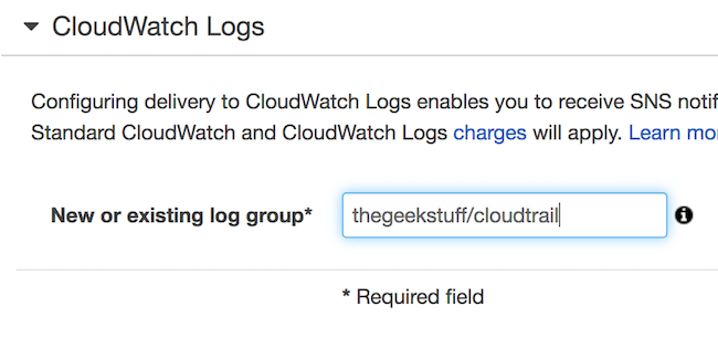 [Cloudtrail to Cloudwatch Logs]
